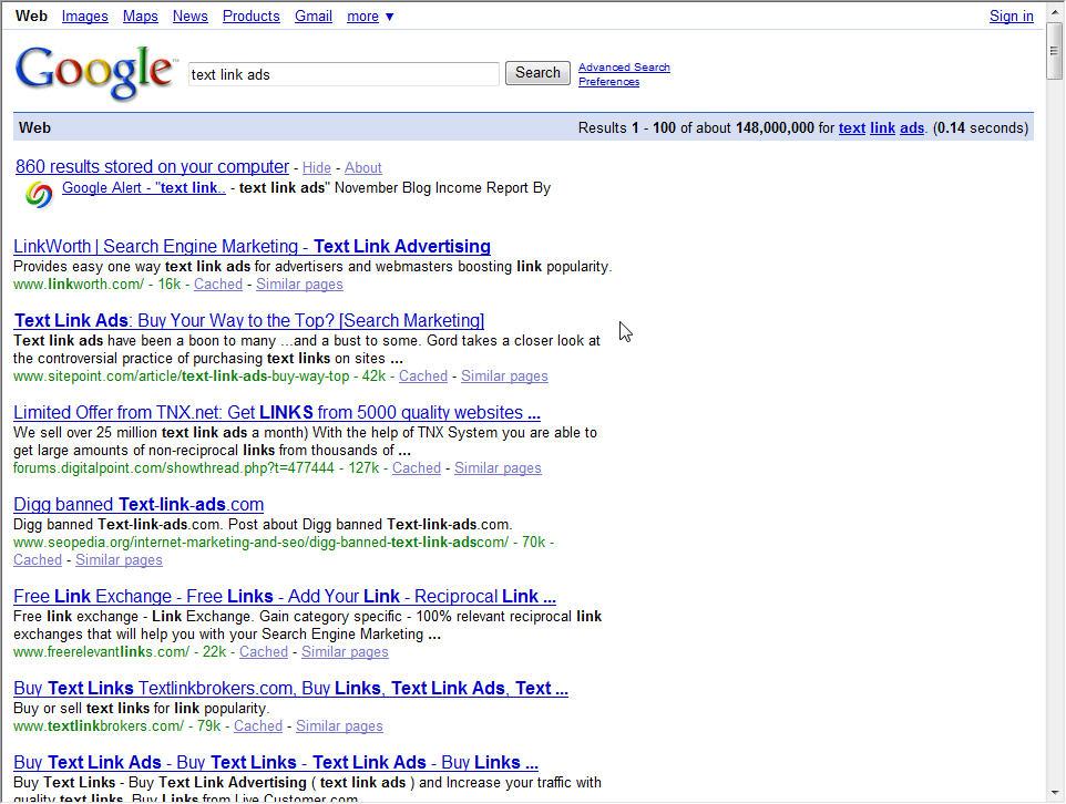 Google Pulls Ads for Link Buying Keywords � LinkWorth � Be Found ...