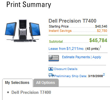 Dell Up-Selling