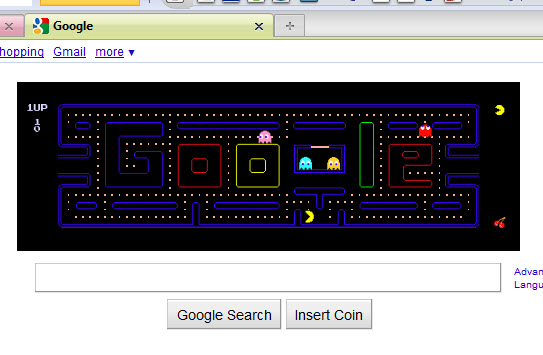 google page games